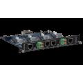 Intelix FLX-BO4A Output Card for Card-Based Matrix Switcher - HDBaseT & Audio De-Embedding