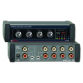 RDL - EZ-MX4L Stereo Line-Level Audio Mixer - 4x1