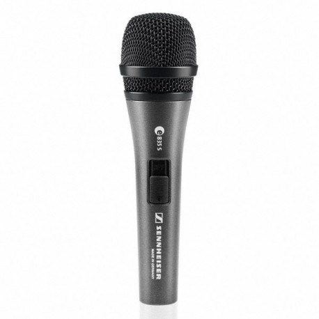 E835-S Evolution Cardioid Microphone with On/Off Switch