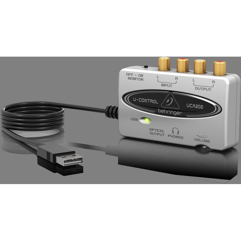behringer uca202 2 i o usb audio interface avsuperstore. Black Bedroom Furniture Sets. Home Design Ideas