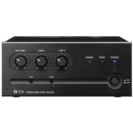 toa bg235 cu mixer amplifier 35w avsuperstore com rh avsuperstore com Toa Amplifiers A-912MK2 Toa Amplifier 500 Series