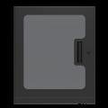 """PFD12 1"""" Deep Plexiglass Door for WMA 12RU"""