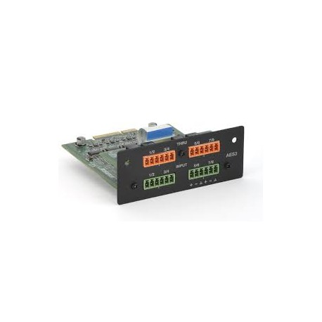 PowerMatch AES3 8-Channel Input Card