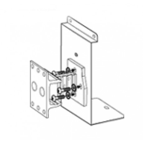 WBP-4 Bi-pivot Wall Bracket (Black)