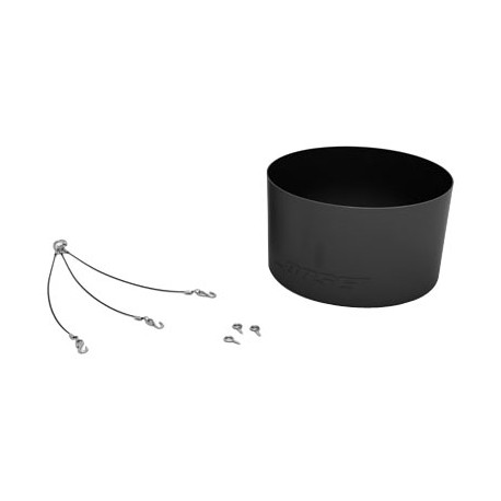 Pendant Mounting Kit for DS 40F / DS 100F Loudspeakers (Black)