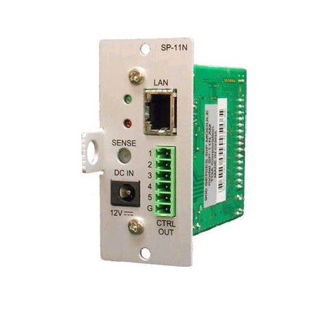 9000 Series SP-11NPS QAM VoIP Paging Module for use with SIP telephone systems.