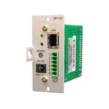 900 Series SP-11NPS QAM VoIP Paging Module for use with SIP telephone systems.