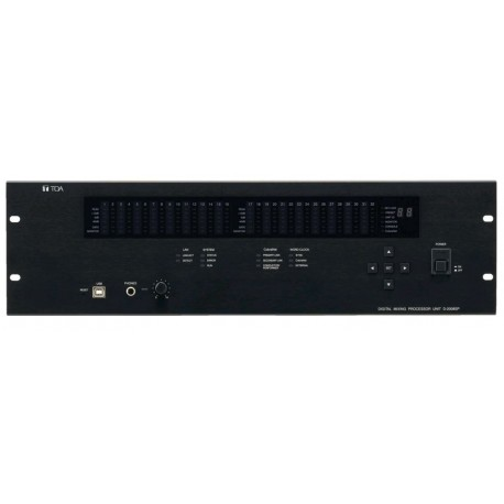 D-2000 Series D-2008SP CU Modular Digital Mixer Thirty-two channel DSP frame w/ Eight Available module slots