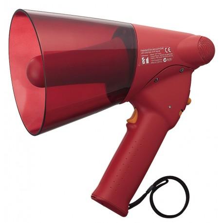 ER-1206S Megaphone 6 W- Siren- Red