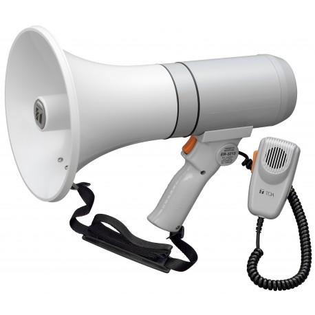 ER-3215 Megaphone 15 W- Microphone- White/Gray