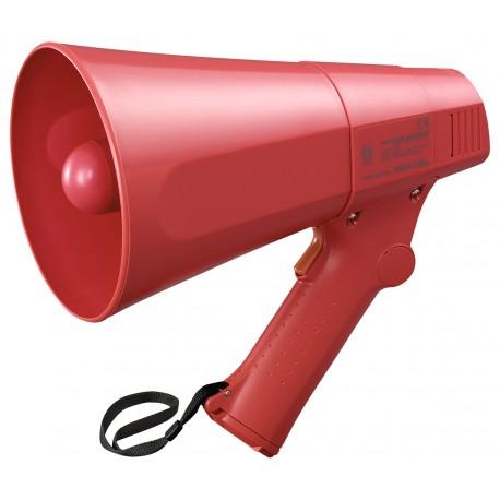 ER-520S Megaphone 6 W- Siren- Red