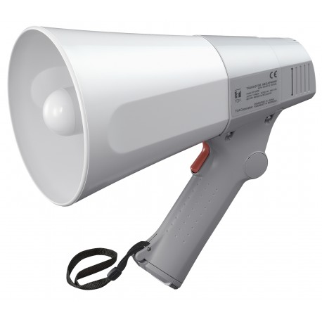 ER-520W Megaphone 6 W- Whistle- White/Gray