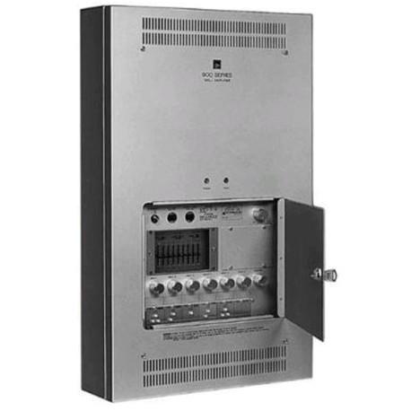 900 Series W-906A UL In-Wall Mixer/Amplifier- 60 W- 6 Module Ports