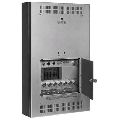 900 Series W-912A UL In-Wall Mixer/Amplifier- 120 W- 6 Module Ports