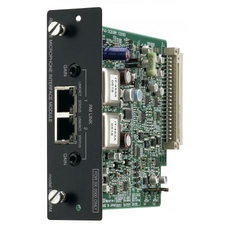 SX-2000 Series SX-200RM Remote Microphone Interface Module