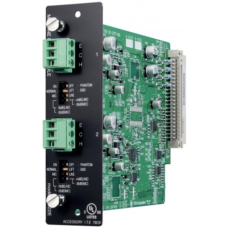 SX-2000 Series D-922E Input Module