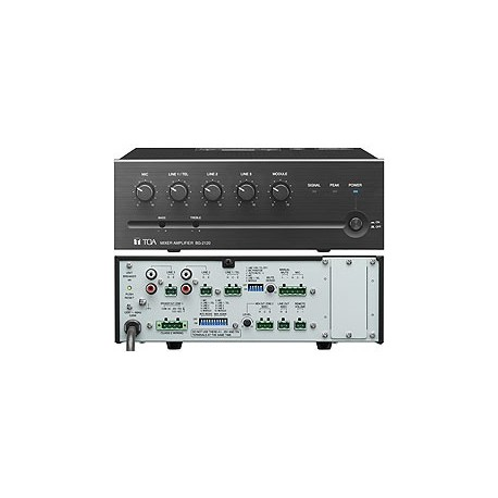 BG-2000 Series BG-2060 CU 5-Input Mixer/Amp 60W (4 Ohm/25V/70V)