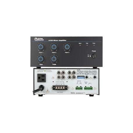 AA35 35 Watt Three Input Mixer Amplifier