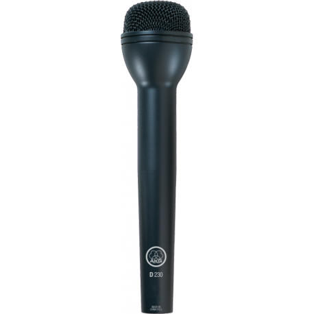 D230 High-Performance Dynamic Eng Microphone