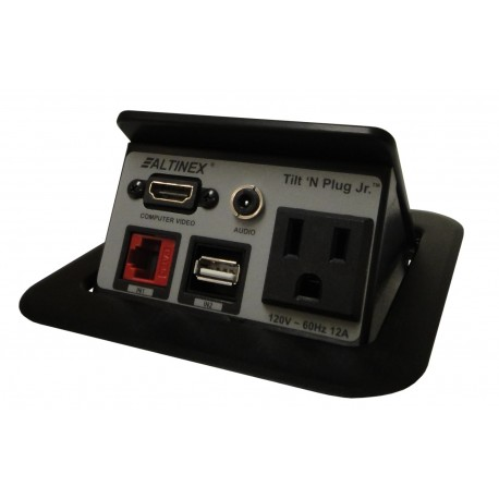 Tilt 'N Plug Jr. TNP125 Digital Tabletop Interconnect Box