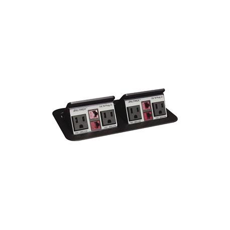 Tilt 'N Plug Jr. TNP152 Tabletop Interconnect Box (2 - RJ45 each box)