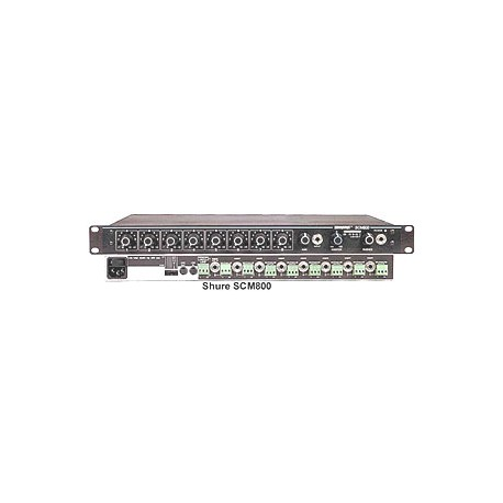 SCM800 Eight-channel Microphone Mixer