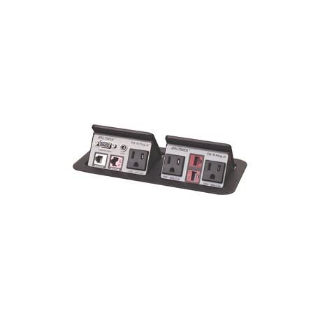 Tilt 'N Plug Jr. TNP162 AV & Data Interconnect Box