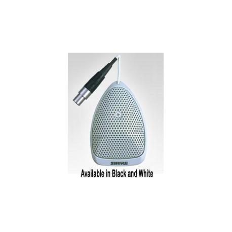 MX391W/O Omnidirectional MicroFlex White Boundary Mic(4 Pin Mini -In Line Preamp)