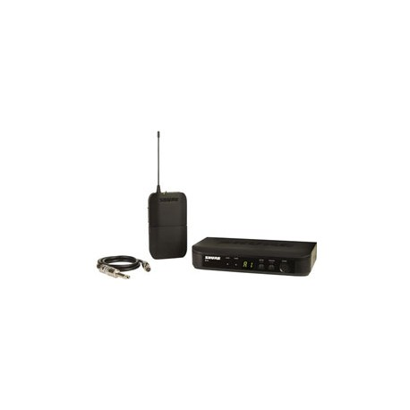 BLX14 Bodypack Wireless System with WA302 Guitar Cable