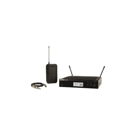 BLX14R Bodypack Wireless System with WA302 Guitar Cable