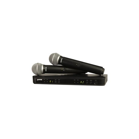 BLX288/PG58 Dual Channel Handheld Wireless System with PG58 Microphones