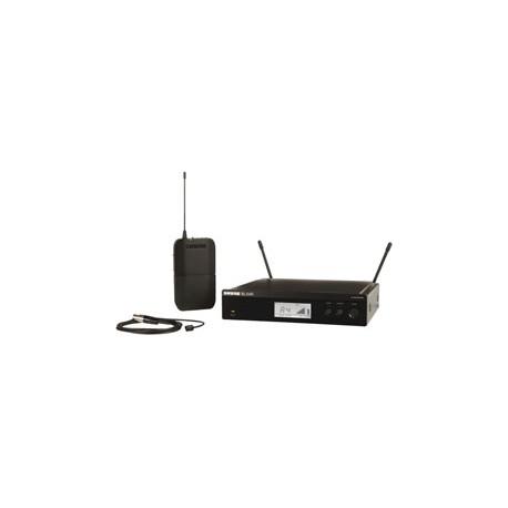 BLX14R/W93 Lavalier Wireless System with WL93 Microphone