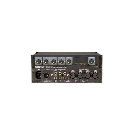 SCM268 4 Channel Transformer Balanced Mic Mixer
