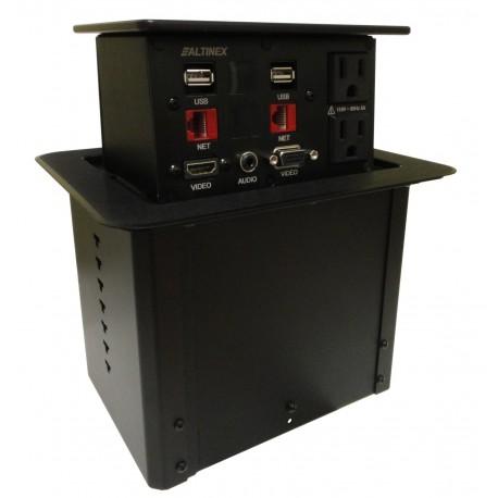 Pop N Plug PNP408 POP 'N PLUG . HYBRID. 2-SIDED. HDMI?, VGA, AUDIO, RJ45, POWER