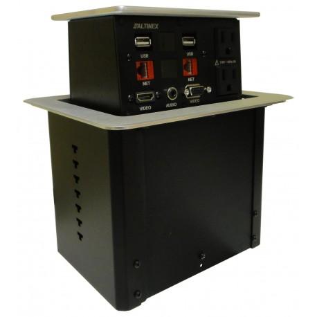 Pop N Plug PNP408S POP 'N PLUG . HYBRID. 2-SIDED. HDMI, VGA, AUDIO, RJ45, POWER