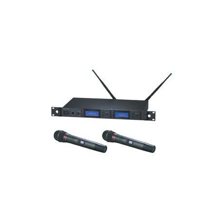True Diversity AEW-5266A UHF Wireless System