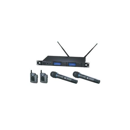 True Diversity AEW-5413A UHF Wireless System