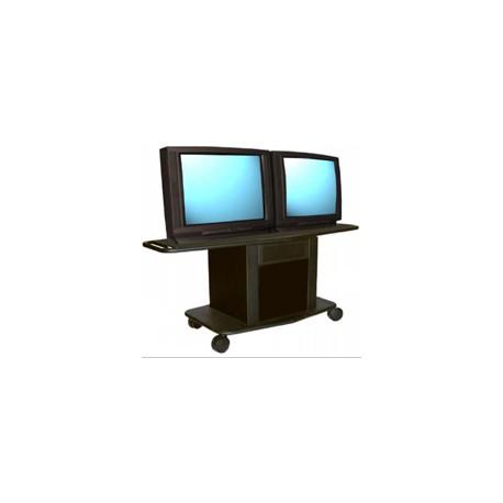 GM-350L Dual Monitor Metal Cart