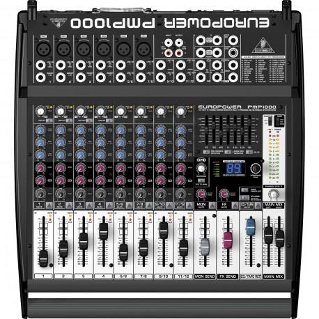 PMP1000 Mixers - Powered Mixers