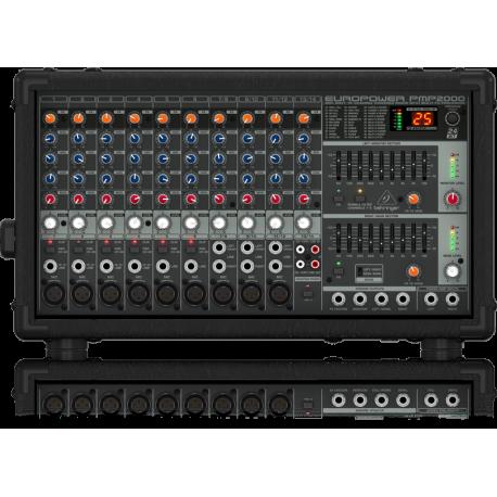 PMP2000 Mixers - Powered Mixers