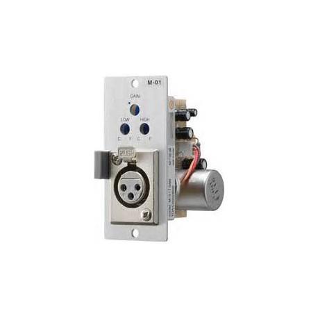 900 Series M-01F Microphone Input Module- Balanced- 200 Ohm-