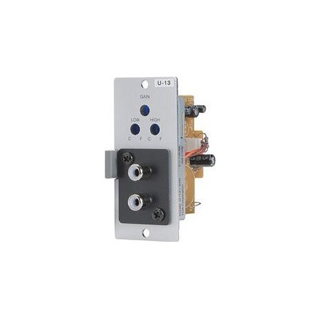 900 Series U-13R Stereo Line Input Module- Lo/Hi-Cut Filters