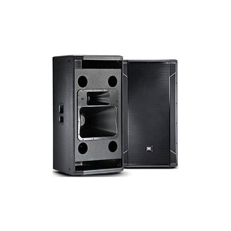 """STX835 Dual 15"""" Three-Way with Horn-Loaded MF/HF section, slot-loaded LF"""