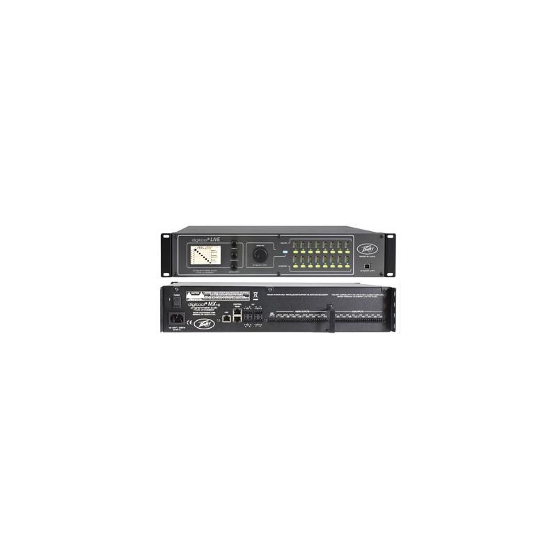 peavey commercial audio digitool mx16 programmable digital processor
