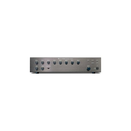 M-900MK2 UL Analog Rack-Mount Mixer- Eight 900 series Module Ports- Black (2U)