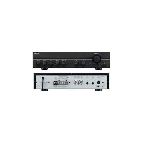 A-2000 Series A-2240 CU Mixer/Amp Five Input (Mic- Line- Tel)- 240W