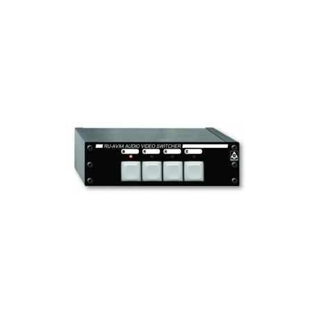 RU-AVX4 Audio / Video Switcher