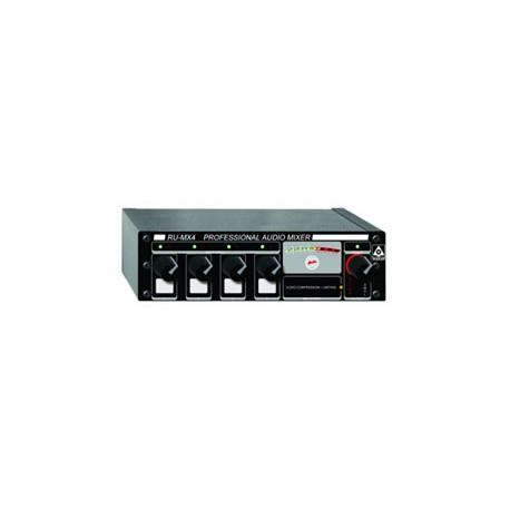RU-MX4L Pro Audio Line Mixer