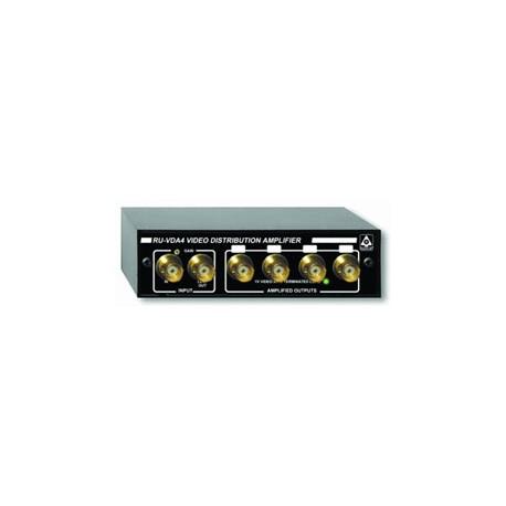 RU-VDA4B Video Distribution Amplifier