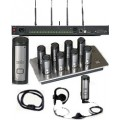 01EXESYS4BLKNM Solo Executive 4 Four Channel FFS Wireless System without Mics